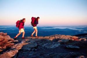 Couple Hiking ca. 1980s-1990s
